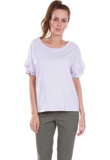 Camiseta Levis Carrie Roxo