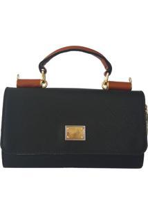Bolsa Bag Dreams Candy Pequena Preta