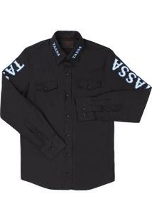 Camisa Tassa Preto
