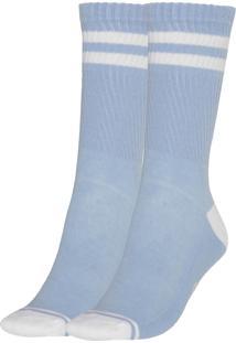 Meia Socks Co Basic Azul