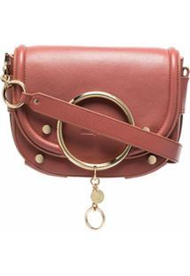 See By Chloé Mara Calf Leather Crossbody Bag - Rosa