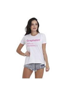 Camiseta Jay Jay Basica Graphshirt Branca Dtg
