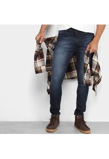 Calça Jeans Slim Coca-Cola Fit Masculina - Masculino