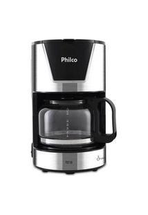 Cafeteira Elétrica Philco Pcf18I 18 Cafézinhos Preto/Inox 110V 110V