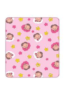 Cobertor Turma Da Mônica Baby 90 Cm X 1,10 M 100% Algodão - Mônica