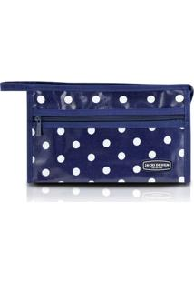 Necessaire Envelope Bolinha - Jacki Design - Feminino