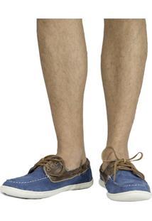 Sapato Masculino Dockside Sandro Moscoloni Columbus Azul Jeans