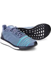Tênis Adidas Solar Drive Masculino - Masculino-Prata+Azul Claro