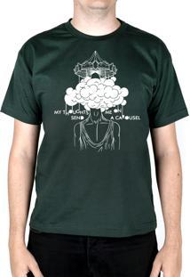 Camiseta 182Life Carousel Musgo