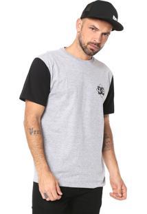 Camiseta Dc Shoes Line Cinza