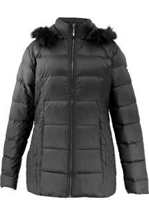 Casaco Feminino Plus Size Augustine De Pluma Ultralight Alpine