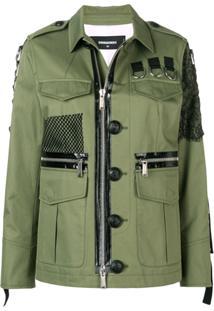 Dsquared2 Jaqueta Militar - Verde