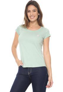 Camiseta Polo Wear Básica Verde