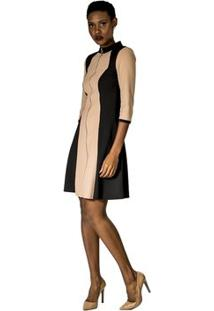 Vestido Com Zíper Alphorria A.Cult - Feminino-Preto