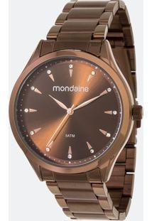 Kit Relógio Feminino Mondaine 53817Lpmvme4K Analógico 5Atm + Pulseira