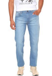 Calça Jeans Timberland Reta Light Washed Azul