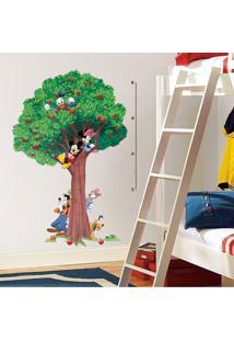 Adesivo De Parede Árvore Turma Do Mickey