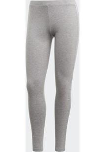 Legging Adidas Trefoil Originals Cinza