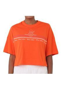 Camiseta Estampada Laranja Colcci 034.57.00282