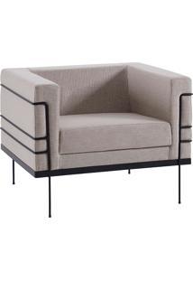 Poltrona Le Corbusier 1 Lugar 2064-1 Linhão – Daf Mobiliário - Cinza