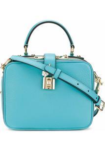Dolce & Gabbana Bolsa Tiracolo Dolce Soft - Azul