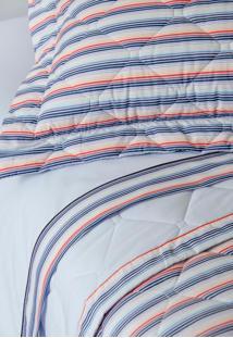 Colcha Com Porta Travesseiro Matelada 200 Fios Michel - Scavone