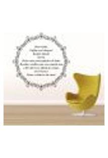 Adesivo De Parede Mandala Com Frase 3 - Pequeno