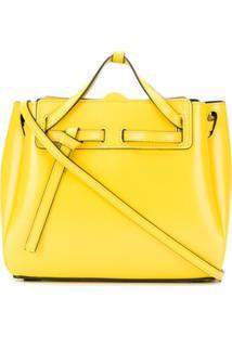 Loewe Bolsa Tiracolo Lazo Mini - Amarelo