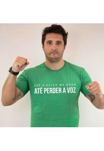 Camiseta Zé Carretilha - Goi-Esmeraldino-Voz Masculina - Masculino