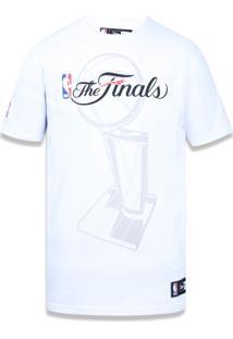 Camiseta New Era Basico Cleveland Cavaliers Branco