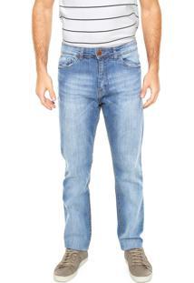 Calça Jeans Hering Slim Comfort Azul
