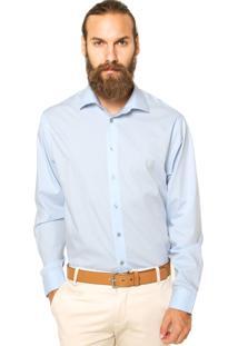 Camisa Calvin Klein White Label Lisa Azul