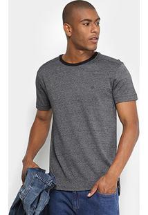 Camiseta Forum Mescla Masculina - Masculino-Chumbo
