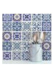 Adesivo De Azulejo Para Cozinha Royal 20X20Cm - 24Un