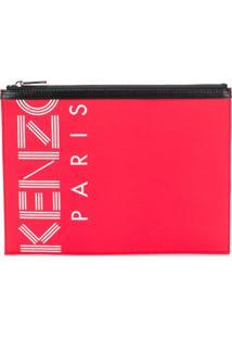Kenzo Clutch 'Kenzo Sport A4' - Vermelho