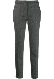 Moschino Cropped Trousers - Cinza