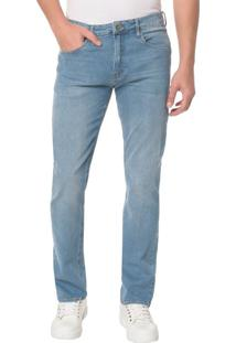 Calça Jeans Five Pocktes Straight Ckj 035 Straight - Azul Claro - 38