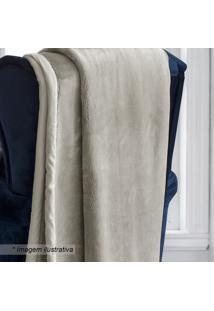 Cobertor King Size - Bege - 240X260Cm - Sultansultan