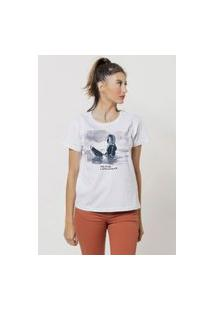 Camiseta Jay Jay Basica How To End Branca Dtg