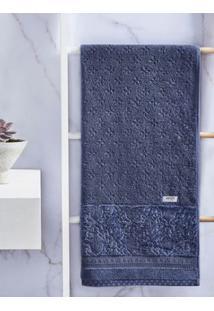 Toalha De Banho Artex Azul Marinho