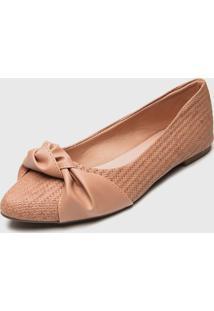 Sapatilha Dafiti Shoes Nó Nude