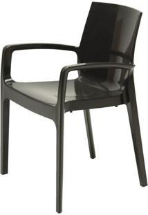 Cadeira Ice Cream Polipropileno Preto - 24693 - Sun House