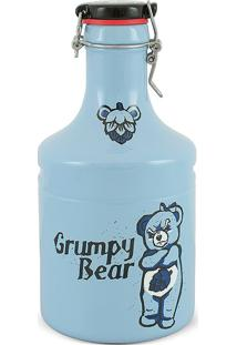 Garrafão Growler Steel-Grumpy Bear 2Litros-Mondoceram - Bege