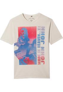 Camiseta John John Rx Heaven Xi Masculina (Cinza Claro, P)