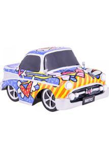 Escultura Romero Britto 3D Carro Vintage Trevisan Concept