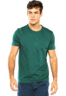 Camiseta Aramis Logo Verde