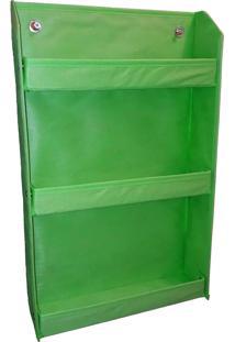 Revisteiro Organibox Prateleira Verde Bandeira Verde Limáo
