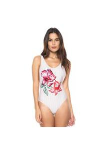 Body Agua Doce Floral Rosa