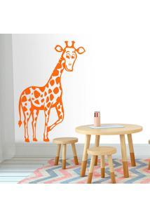 Adesivo De Parede Girafa Safari
