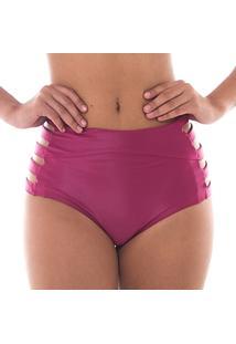 Calcinha Nanes Hot Pant Strappy Lisa Vermelha